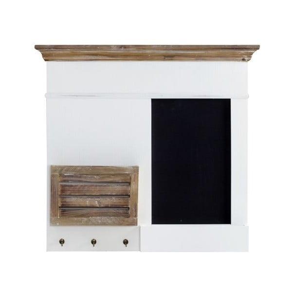 Nástenný organizér Charlston White, 68x62x8 cm