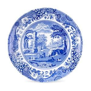 Sada 4 bielo-modrých tanierov Spode Blue Italian, ø 15 cm