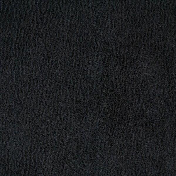 Trojmiestna pohovka Miura Munich, čierny semišový poťah