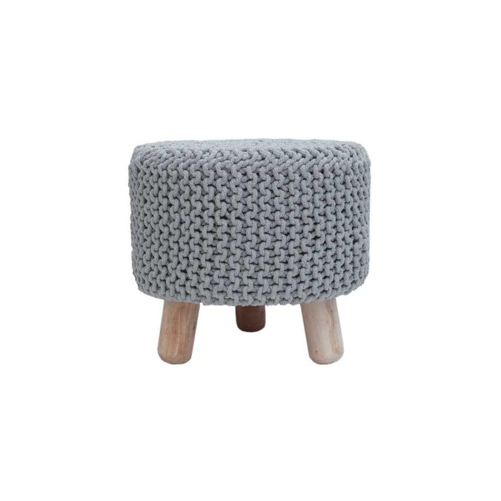 Svetlo-sivá stolička LABEL51 Kota