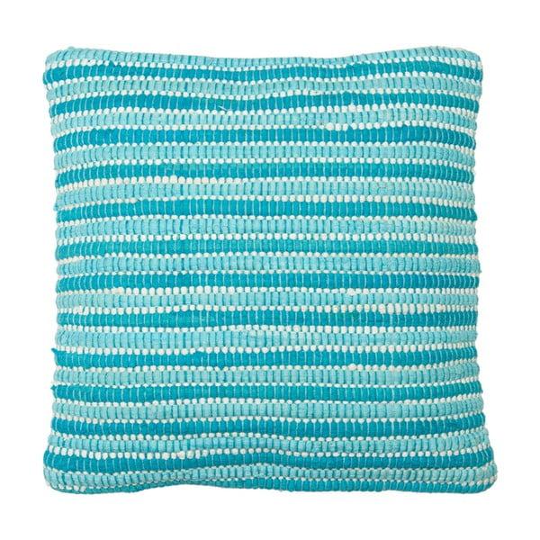Vankúš Cotton Aqua, 45x45 cm