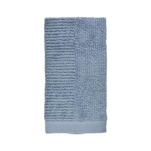 Modrý uterák zo 100% bavlny Zone Classic Blue Fog, 50×100 cm