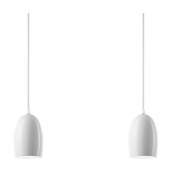 Dvojité svetlo UME Elementary, opal glossy/white/white
