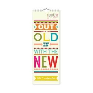 Úzký kalendár Portico Designs Say So