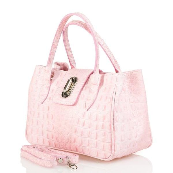 Kožená kabelka Laura, ružová