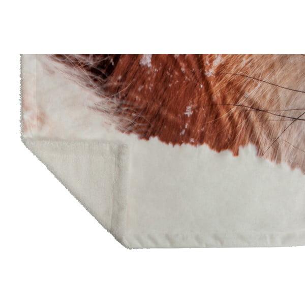 Prikrývka J-Line Fox Velvet, 140x160 cm