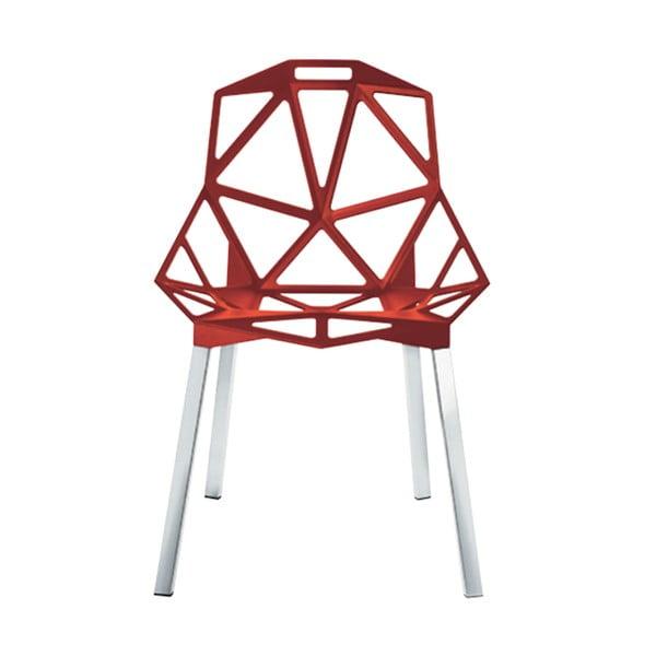 Červená stolička Magis One