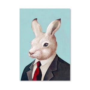 Plagát Rabbit, 30x42 cm
