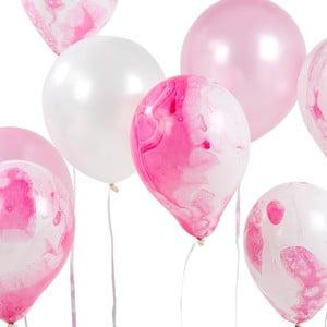 Sada 12 ružových balónikov Talking Tables Unicorn