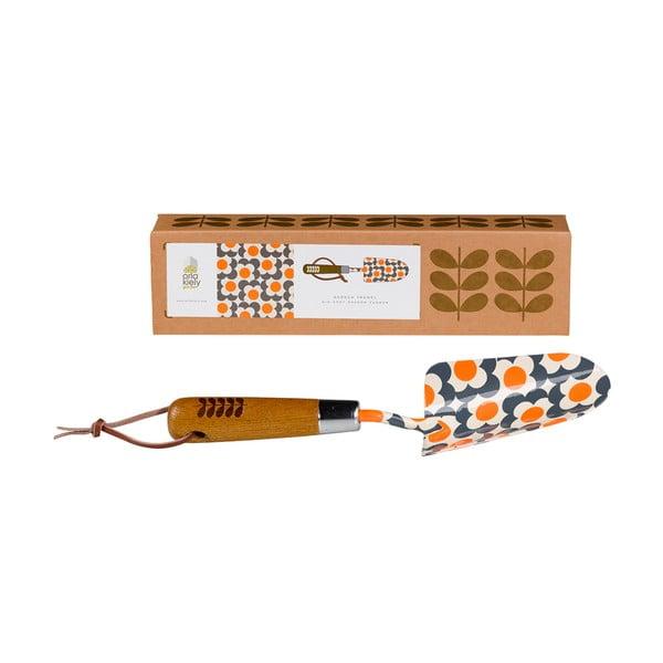 Oranžová lopatka na presádzanie Orla Kiely Retro