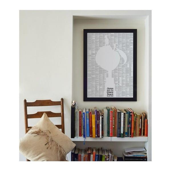 Knižný plagát Jakub a obrovská broskyňa, 50x70 cm