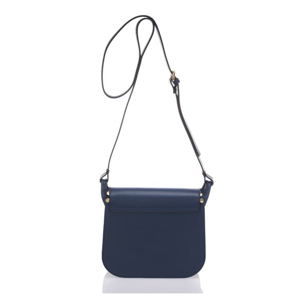 Modrá kožená kabelka Lisa Minardi Bycast