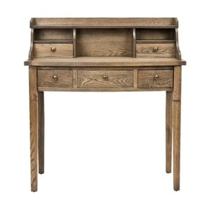 Písací stôl Olivia Oak