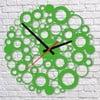 Nástenné hodiny Green Bubble