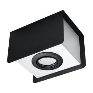 Čierno-biele stropné svietidlo Nice Lamps Sain Uno