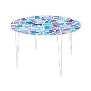 Jedálenský stôl Stone Mosaic, 120 cm