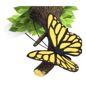 Nástenné svetlo s nálepkou Yellow Butterfly