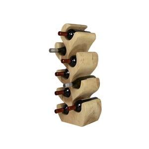 Stojan na fľaše od vína z dreva suar HMS collection, výška 72 cm