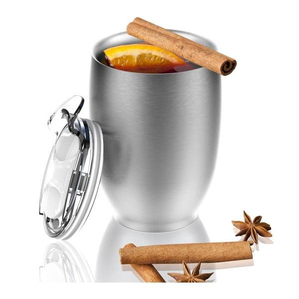 Termohrnček z nehrdzavejúcej ocele Imperial Beverage, strieborný