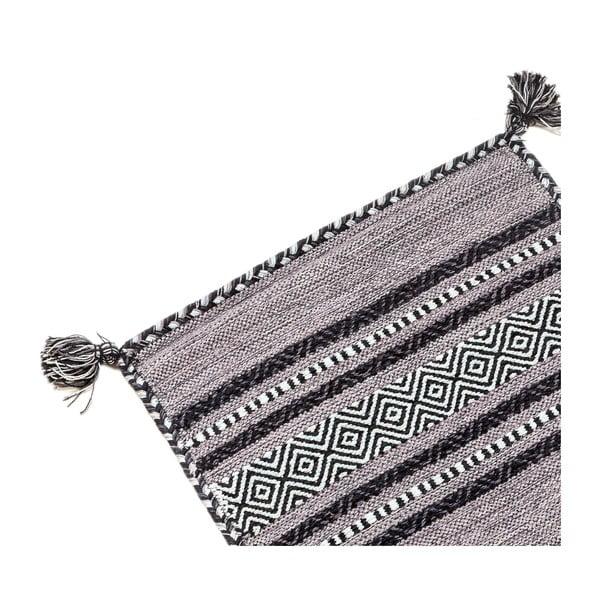 Ručne tkaný koberec Kilim Tribal 402, 180x60 cm