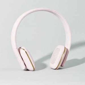 Bezdrátové slúchadlá aHead Pink