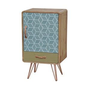 Nočný stolík z jedľového dreva Livin Hill Portofino Trio