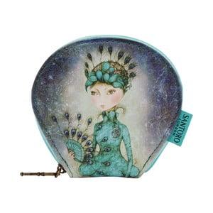 Obojstranná taštička Santoro London Mirabelle Miss Peacock
