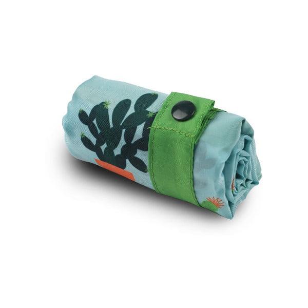 Skladacia nákupná taška Cactus