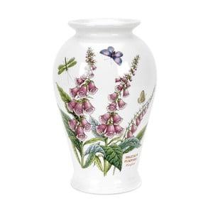 Kameninová váza s kvetínami Portmeirion Foxglove, výška 20 cm
