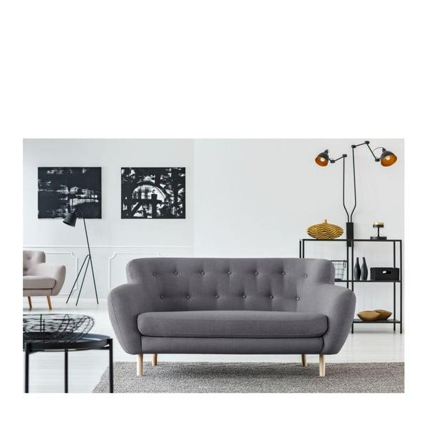 Sivá pohovka pre dvoch Cosmopolitan design London