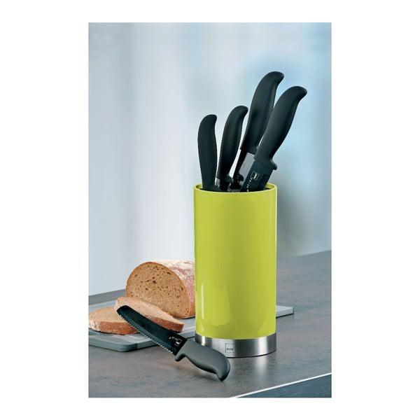 Stojan s kuchynskými nožmi Acida, limetkový