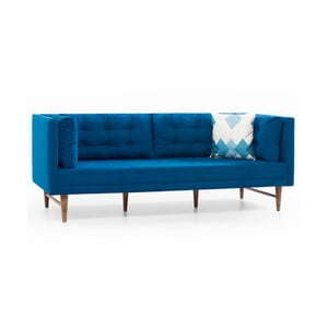 Modrá trojmístná pohovka Balcab Home Eva