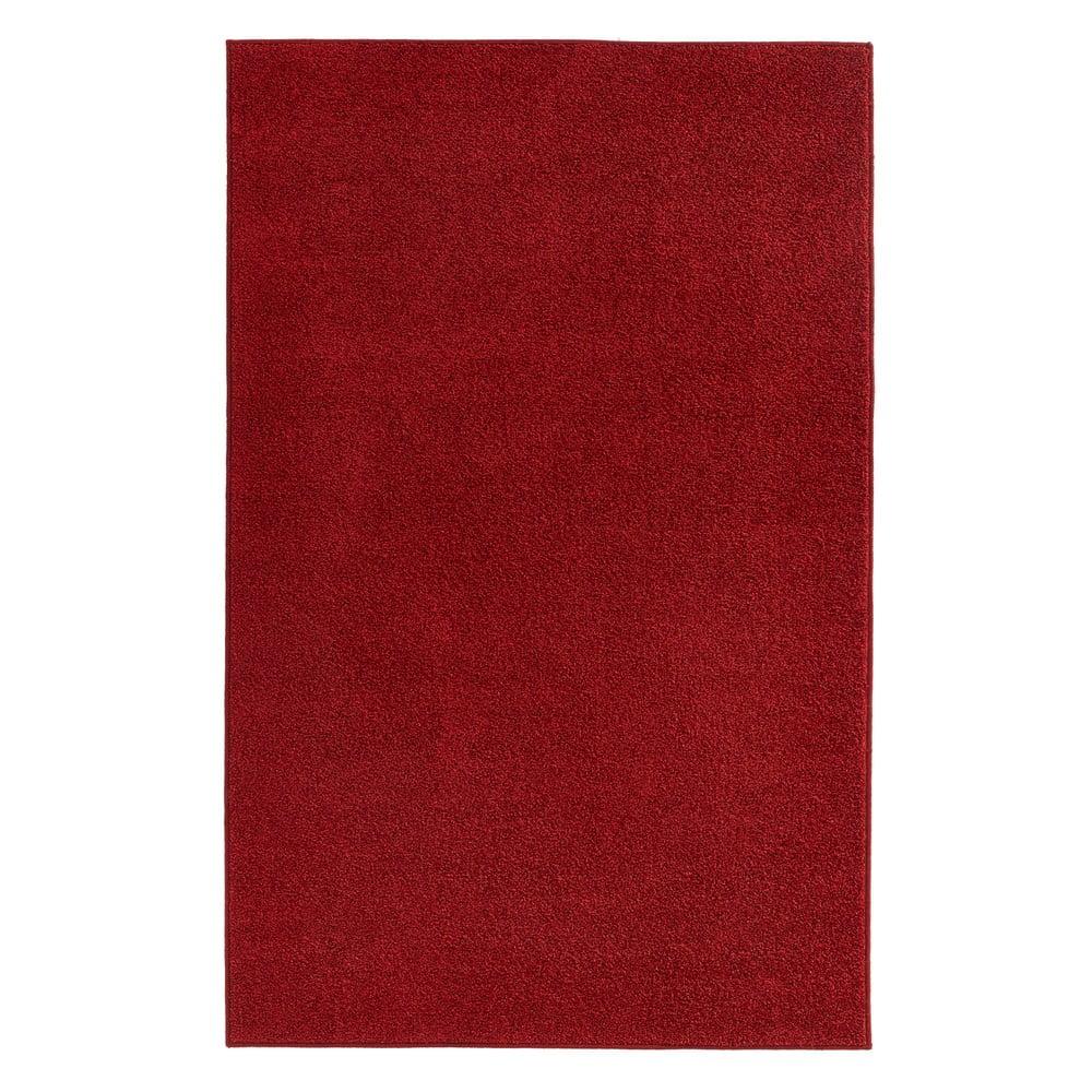 Červený koberec Hanse Home Pure, 200 × 300 cm