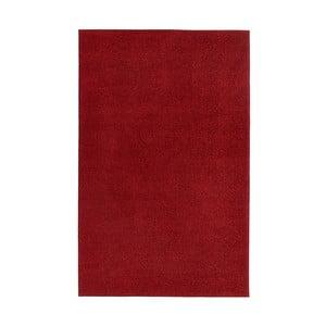 Červený koberec Hanse Home Pure, 300 × 400 cm