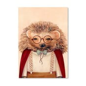 Plagát  Hedgehog, 30x42 cm