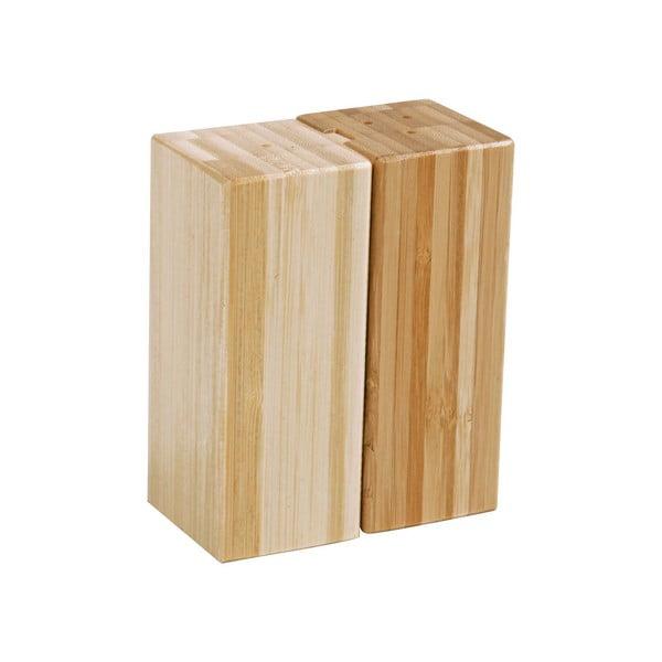 Sada bambusové soľničky a koreničky Modern