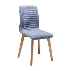 Sada 2 modrých jedálenských stoličiek Kare Design Lara