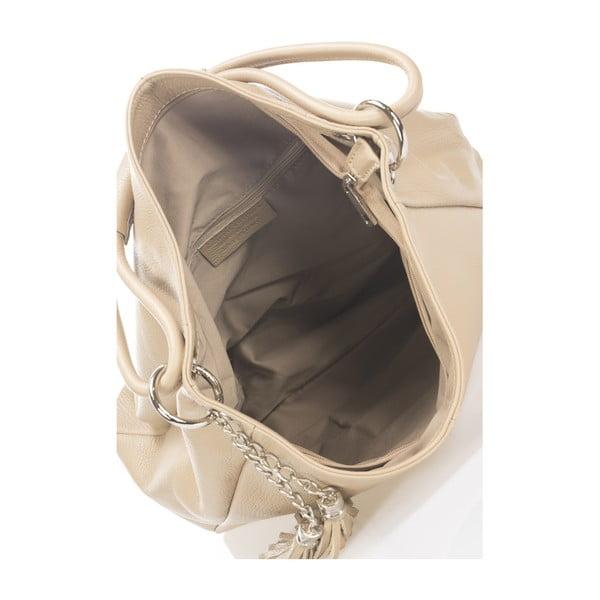 Kožená kabelka Markese 5008 Beige
