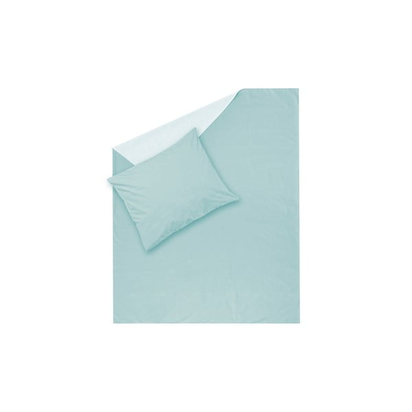 Mentolové obliečky Hawke & Thorn Parker Simple, 150 x 200 cm + vankúš 50 x 60 cm