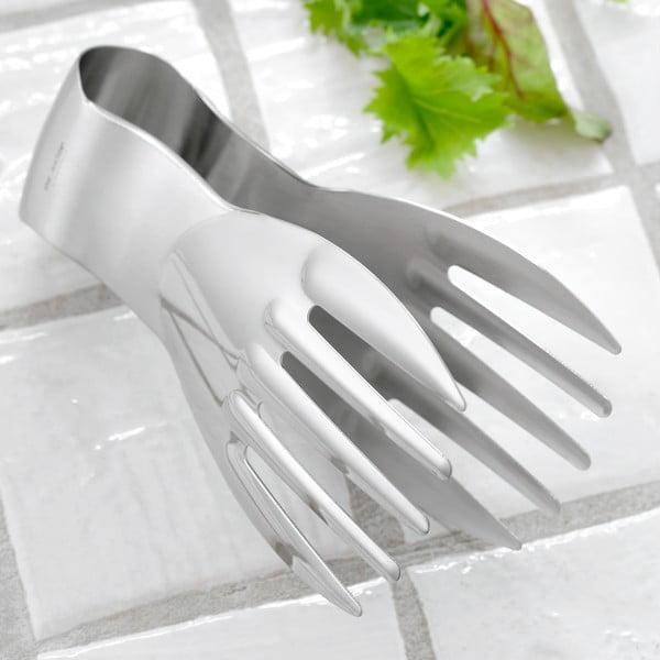 Šalátové kliešte Steel Function Hand