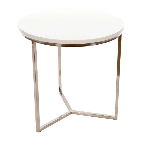 Odkladací stolík Trio Metal, 50x50 cm
