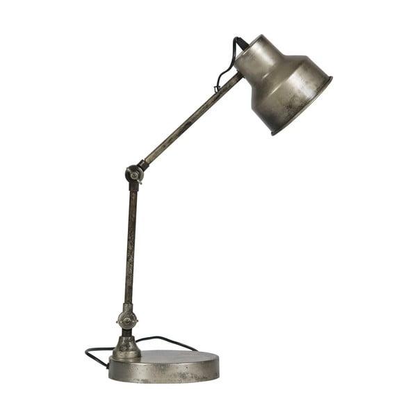 Stojacia lampa v striebornej farbe WOOOD Hector, výška 66 cm