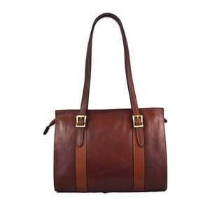 Kožená taška Santo Croce 132093 Brown