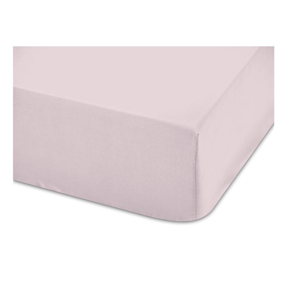 Ružová bavlnená estetická plachta Boheme Basic, šírka 160 cm