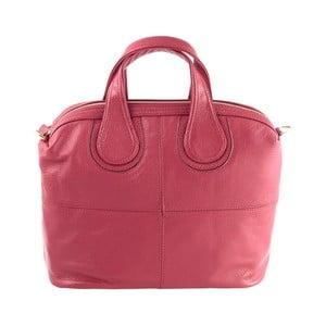 Kožená kabelka Andrea Cardone 900 Red