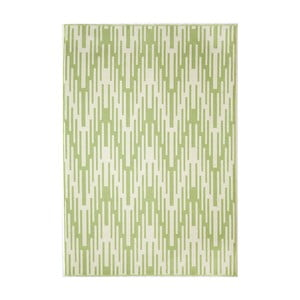 Zelený koberec Nourison Baja Maldonado, 290×201cm