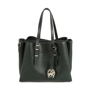 Zelená kabelka z eko kože Beverly Hills Polo Club Alicia