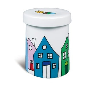 Porcelánová dóza Little Village