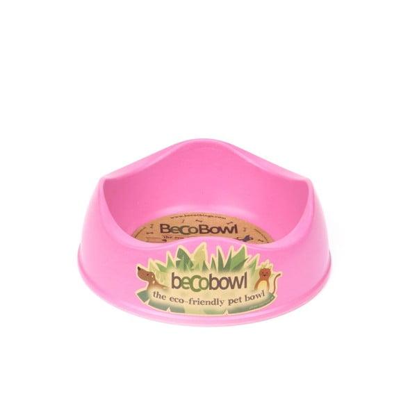 Miska pre psíkov/mačky Beco Bowl 21 cm, ružová