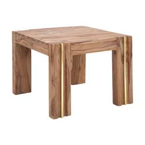 Malý konferenčný stolík z dreva sheesham Mauro Ferretti Elegant